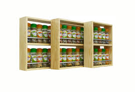 spice racks wall mounted wooden spice rack spice rack wall