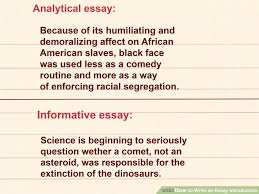 Essay      How To Write A Essay Introduction How To Write Essay