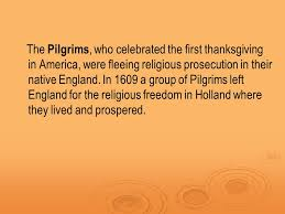 thanksgiving the pilgrims and america s thanksgiving ppt