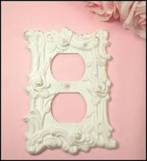Shabby Chic Light Switch Covers by Beautiful Victorian Cast Metal Brass Light Switch Cover