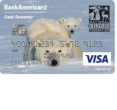how to apply for a world wildlife fund bankamericard credit card