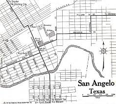 map of san angelo 1up travel historical maps of u s cities san angelo 1920