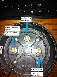 wiring diagram for dual batteries u2013 the hull truth u2013 boating and