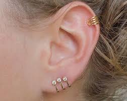 cartilage cuff earrings cartilage cuff etsy