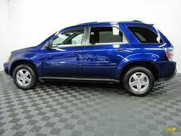 laser blue metallic 2005 chevrolet equinox lt awd exterior photo