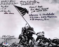 Marines Holding Flag Pristine Auction To Feature One Day Veterans Day Event Benefiting