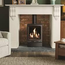 gas stove gazco gas vogue midi high efficiency 75 contemporary