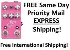 jhs delay jhs effects pink panther digital delay pedal ebay