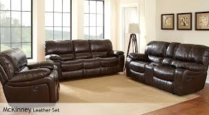 Leather Recliner Sofa Set Deals Leather Sofa Electric Recliner Adrop Me