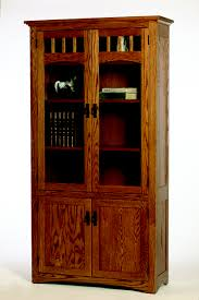 bookcase with bottom doors 72 h mission bookcase with glass top doors and panel bottom doors