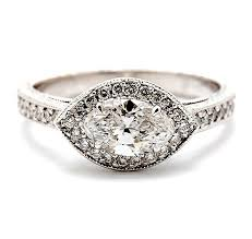 marquise cut engagement rings marquise cut engagement ring henry wilson jewelers