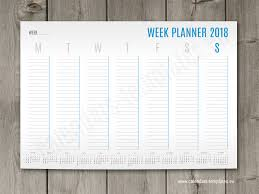 printable january 2016 weekly planner a1 a2 and a3 weekly planner template with small yearly calendar 2018