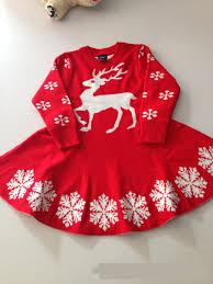 baby christmas sweater dress