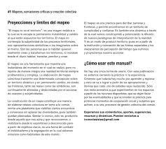 manual de mapeo 2013