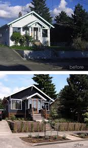 Small House Exterior Paint Schemes by Best 25 Modern Bungalow Exterior Ideas On Pinterest Modern