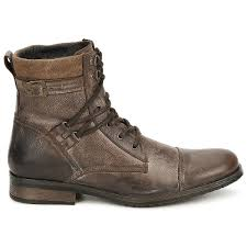 casual attitude rivigh brown shoes mid boots men good