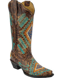 Decorated Walking Boot Corral Boots Over 25 000 Pairs U0026 300 Styles Of Cowgirl And