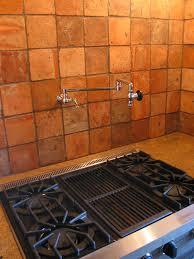 terra cotta tile backsplash innovative paint color creative of