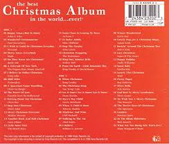 christmas cds various artists best christmas album in the world