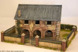 1 72 italeri country house with porch front view flames of war