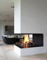 Real Fire Fireplace by The 25 Best Open Fireplace Ideas On Pinterest Modern Fireplace