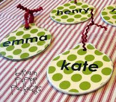 simple mod podged ornaments simply kierste design co