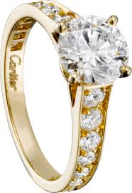 cartier solitaire rings images Crh4142700 1895 solitaire ring yellow gold diamonds cartier png