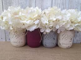 pink copper mason jar decor wedding ideas pinterest jars