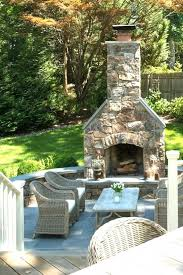 fireplace perfect outdoor stone fireplace ideas for home design
