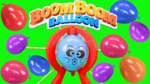 boom boom balloon boom boom balloon pop amount of toys popping