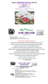 Job Fair Resume by Great Commission Job Fair Workforce Solutions For Tarrant County
