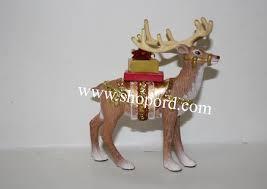 hallmark 2016 limited quantity reindeer ornament