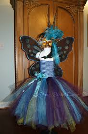 peacock fairy masquerade ball tutu dress by tiffanybrooksdesigns