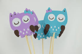 purple owl baby shower decorations owl party centerpieces owl theme owl centerpiece owl baby