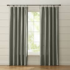 Gray And Teal Curtains Curtain Panels And Window Coverings Crate And Barrel