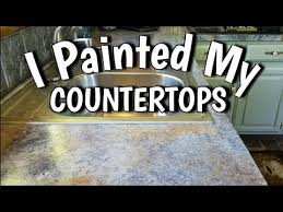 what of paint do you use on formica cabinets how to paint countertops looks like slate 65 diy budget friendly kitchen update