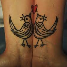 unbelievably romantic couple tattoos