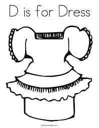 printable 36 dress coloring 7474 dress