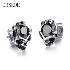 skull stud earrings online get cheap diamond skull earrings aliexpress alibaba