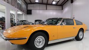 orange maserati 1972 maserati indy for sale near saint louis missouri 63074