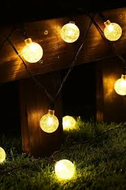 the 25 best christmas pathway lights ideas on pinterest outdoor cmyk solar operated 30 led string light with crystal ball covers ambiance lighting great for outdoor use in patio pathway garden indoor use in party