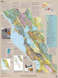 map of ta bay geologic map of the san francisco bay region