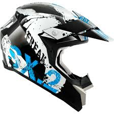 motocross helmet graphics shark sx2 freak black white blue motocross helmet kwb cross enduro