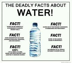 Fact Meme - the deadly facts about water weknowmemes