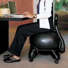 Sitting On A Medicine Ball At Desk 22 Best Exercise Ball Office Chair Images On Pinterest Exercise
