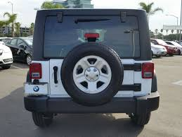 2017 Used Jeep Wrangler Unlimited Sport 4x4 At Bmw Of San Diego