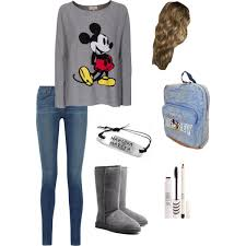polyvore casual disney casual polyvore