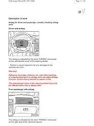 volkswagen passat b5 1997 2004 mantenimiento tire belt