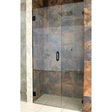 bronze shower doors showers the home depot