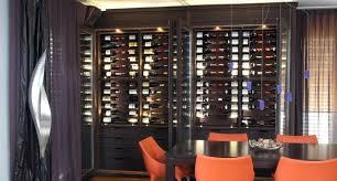 custom wine cabinet wenge modern wine cellar other by